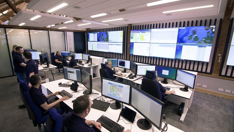 Control room environment