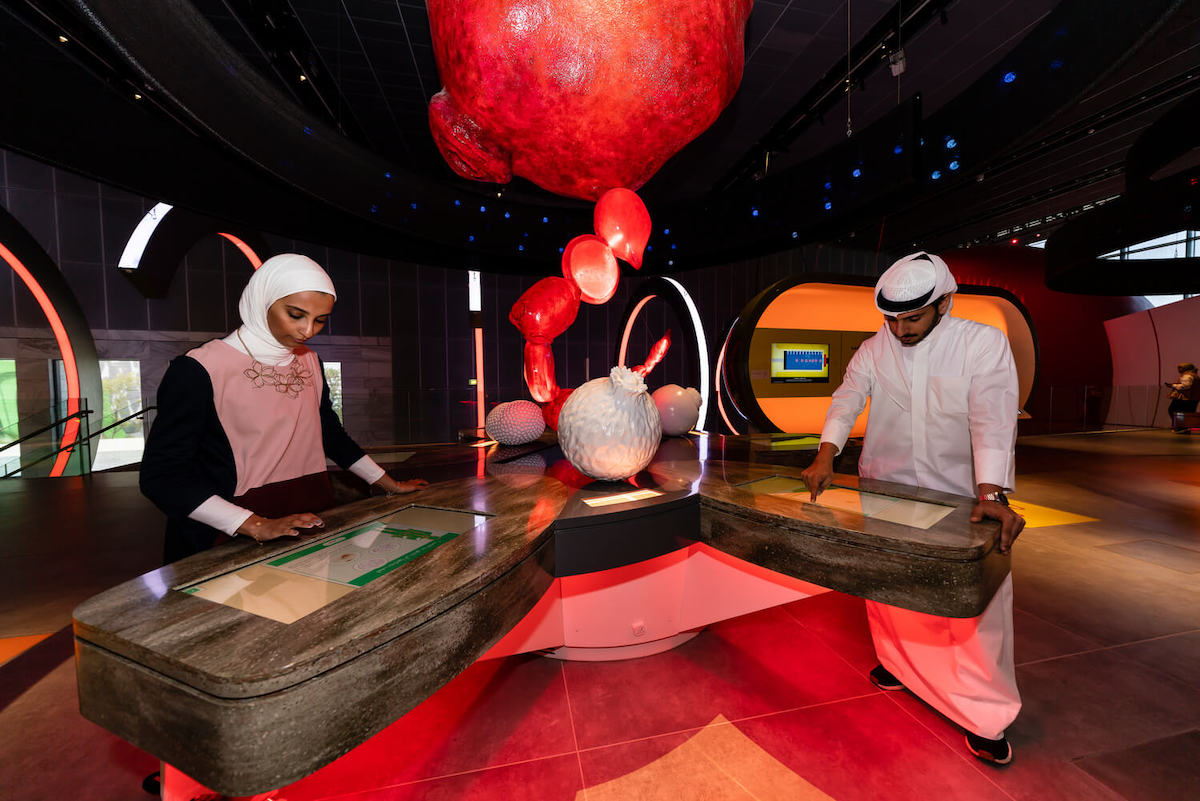 Electrosonic played a key role in helping SAASCC deliver an immersive museum experience.