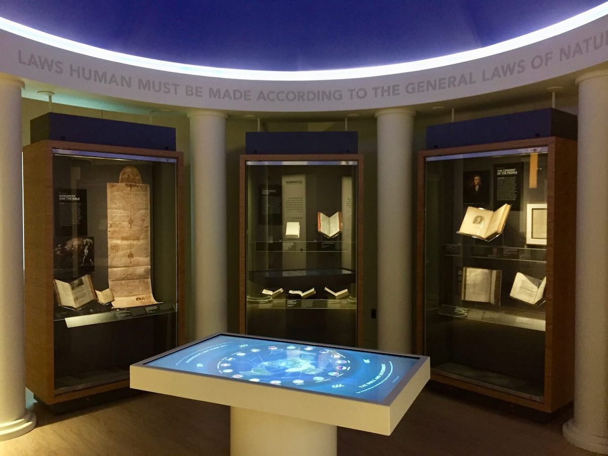 Engagement through technology is a great way to bring an exhibit to life.