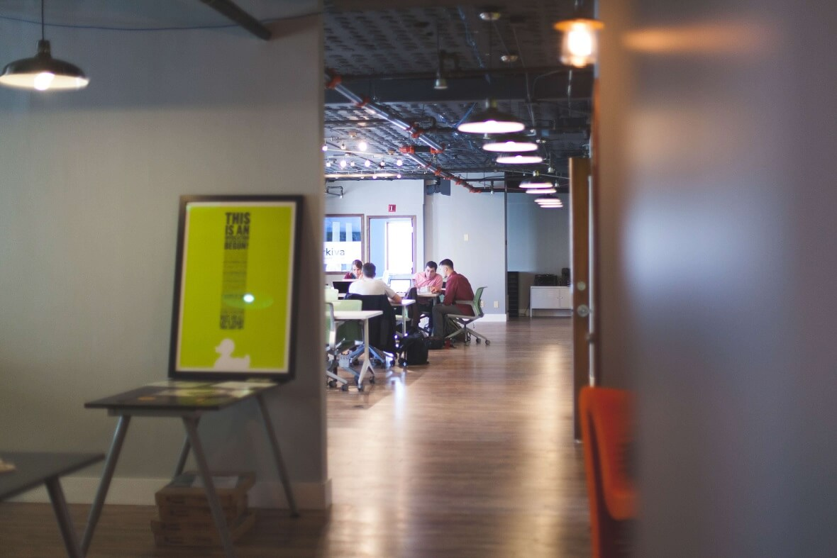 Traditional work spaces need a face lift