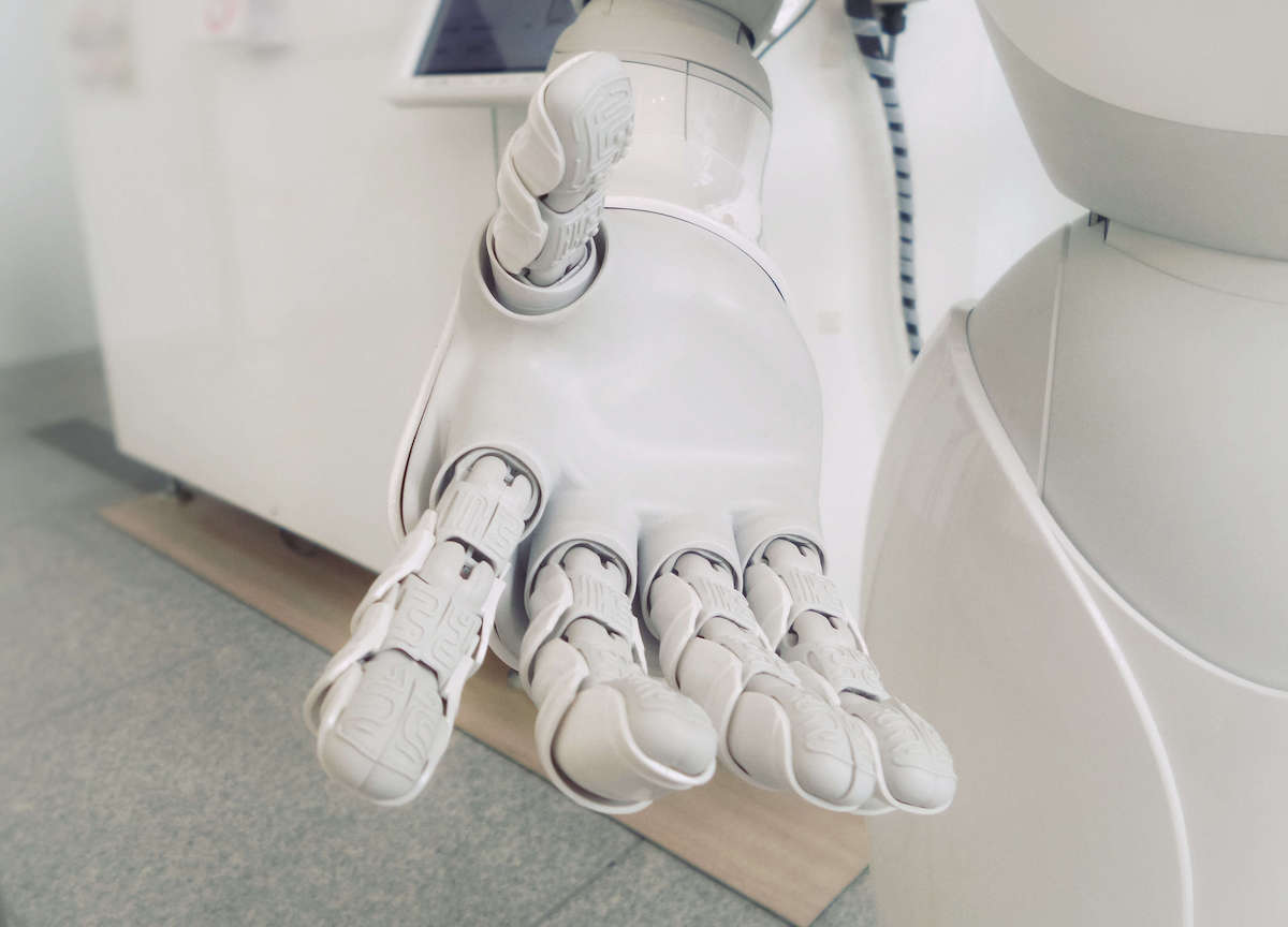 Robots help with safety as well as elimination of repeating tasks.
